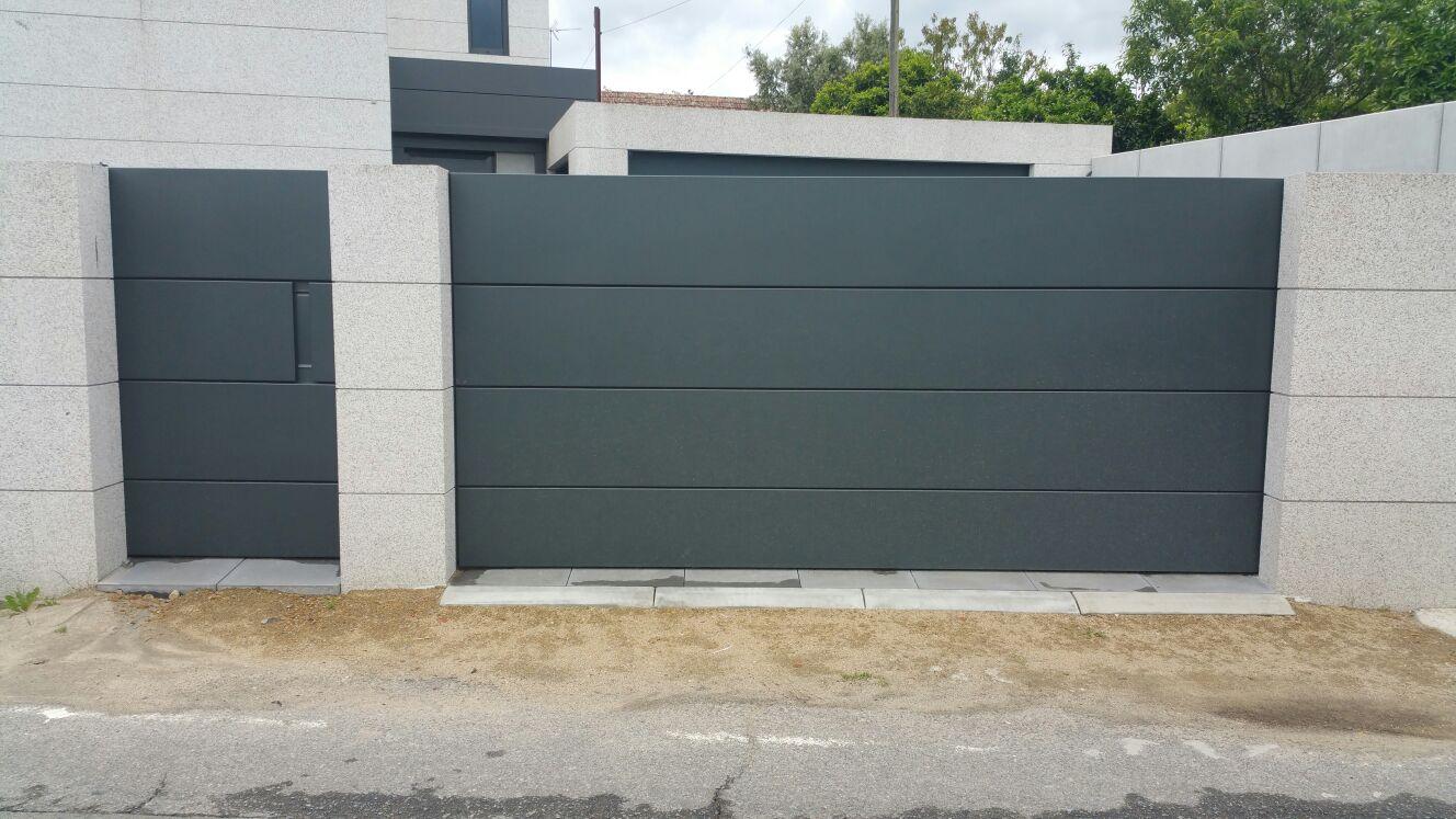 Puerta y portal sin marco